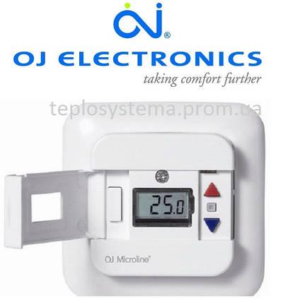 Цифровой терморегулятор для теплого пола OTN2-1666 OJ Electronics (Дания), фото 2