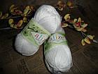 Alize Bamboo & Cotton Бамбук и Коттон (Дует) 55 белый