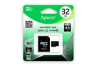 Карта памяти Apacer microSDHC UHS-I 32GB сlass10+SD
