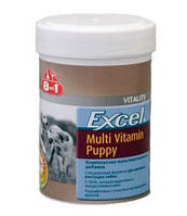 Мультивитамины для щенков 8in1 Excel Multi Vitamin Puppy 100 табл.