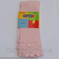 Леггинсы для девочек Ergee (розовые)