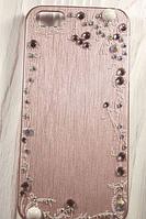"""Пластиковый чехол со стразами """"Rhinestones"""" для Apple iPhone 5/5S Чехол для айфона"""