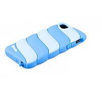 Чехол-накладка для Apple iPhone 5/5S, HOCO, Cotton Candy Silica, силиконовый, синий /case/кейс /айфон