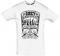 Мужская футболка Obey Propaganda White, фото 1