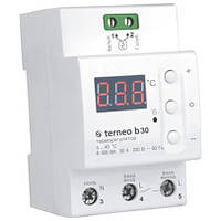 Мощный цифровой термостат для теплого пола Terneo b30 на DIN-рейку
