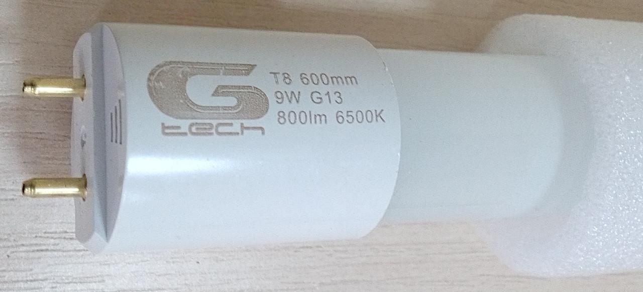 Лампа LED G-tech T8 YL-9W-600-холодный