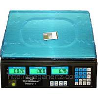 Весы торговые  до 40 кг со счетчиком, весы электронные торговые спартак