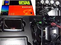 Парковочный радар (парктроник) 4 датчика
