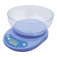 Весы кухонные + чаша (вес до 5-и килограмм)