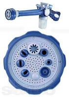 Распылитель воды универсальный Ez Jet Water Cannon, насадка на шланг водомет с отсеком для моющих средств, фото 5