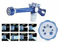 Распылитель воды универсальный Ez Jet Water Cannon, насадка на шланг водомет с отсеком для моющих средств, фото 7