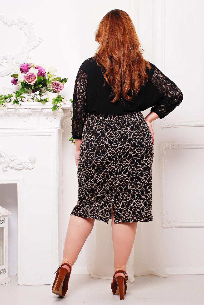 Гипюровые юбки больших размеров