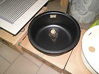 Кухонная мойка эмалированная Ilve 435 (сarbon), фото 1