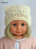Очень красивая шапка для девочки , фото 4