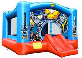 """Детский надувной батут игровой центр аттракцион """"Звёздные войны"""" Happy Hop"""