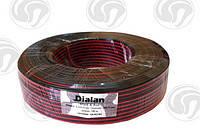Акустический кабель2*0,75 (bimetal black - red)