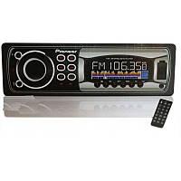 Автомагнитола Pioneer 1168 (USB,SD,FM,AUX,ПУЛЬТ)
