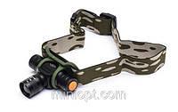 Налобный аккумуляторный фонарь bailong bl-6660