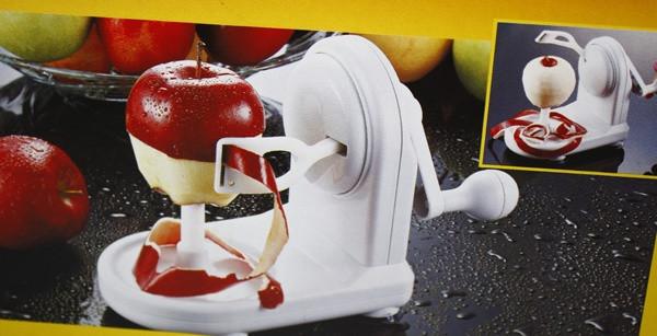 Яблокочистка Apple Peeler ручная. Машинка для чистки кожуры. Механическая Яблокочистка Серпантин
