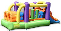 """Детский надувной батут игровой центр аттракцион """"Полоса препятствий"""" Happy Hop"""