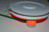 Жерлица кружок 150мм оснащенная, фото 1
