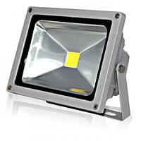Прожектор LED 20w 4000K IP44 1LED LEMANSO серый с датчиком / LMPS20, прожектор с датчиком движения купить