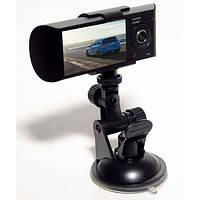 Автомобильный видеорегистратор c GPS DVR H990S на 2 камеры
