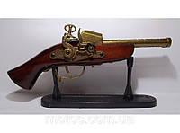 Подарочный мушкет- зажигалка длина 30см, турбина
