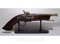 Подарочный мушке с зажигалкой, длина 34 см. Турбинка. Подарунок мушкет