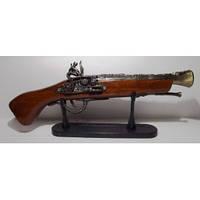 Подарочный мушкет зажигалка длина 36 см