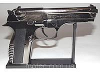 Сувенир зажигалка в виде пистолет беретта