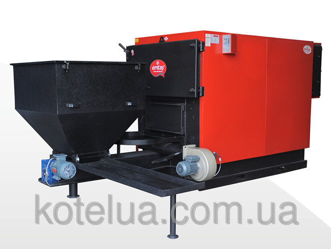 Пеллетный котёл Emtas™ - EK3G-CSAO/S-140 (автоподжиг и 2-ой шнек) 163 кВт , фото 1