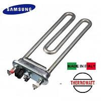 Тэн на стиральную машину 1900 W / L=185мм (с датчиком) Thermowatt, Италия