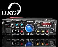 Усилитель UKC AV-120 2 x 150 Вт + Караоке, USB