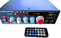 Усилитель UKC OK-309 + караоке, усилитель звука