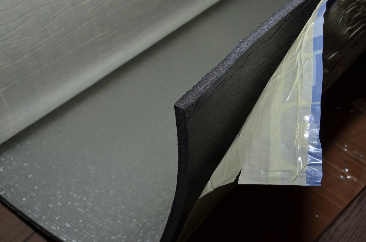 Изотейп 500 4мм клей+фольга (м.кв.), 20м/рулон