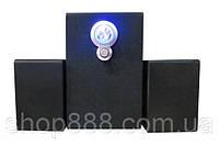 Акустическая система 2.1 AU-703B (220V+USB+FM+карта памяти), Колонки для PC