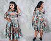 Платье женское, батальное, фото 6