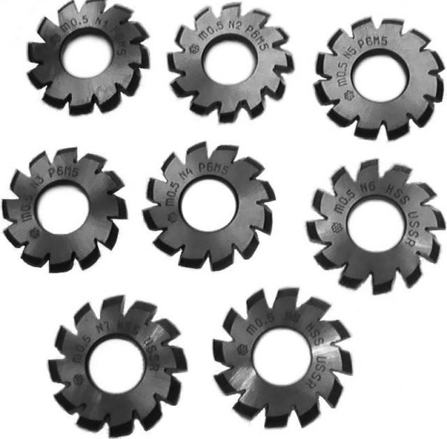 Фрезы дисковые модульные