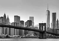 Фотообои бумажные на стену 366х254 см 8 листов: Город Нью-Йорк
