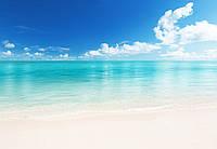 Фотообои бумажные на стену 366х254 см 8 листов: Морской пляж