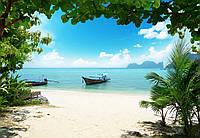 Фотообои бумажные на стену 366х254 см 8 листов: Остров Пхи-Пхи, Таиланд