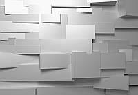Фотообои бумажные на стену 366х254 см 8 листов: 3d Стена