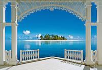 Фотообои бумажные на стену 366х254 см 8 листов: Море, Прекрасный день