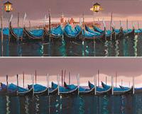 Набор для вышивания бисером FLF-109D Берег Венеции 2*20*50 Волшебная страна качественный , фото 1
