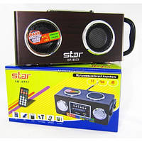 Портативные MP3 колонки USB SD карт FM Star 8933