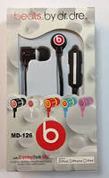 Наушники Monster Beats by Dr.Dre MD-126 черные