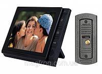 Домофон 806 С видео и фото регистрацией c датчиком движения на SD карту до 32Gb + 2 видеовхода