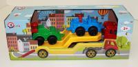 Игрушка Автовоз с набором машинок 3909
