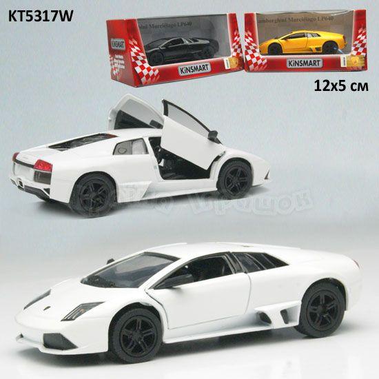 Автомодель Металл. 1:36 Lamborghini Murcielgo LP640 KT5317W Kinsmar